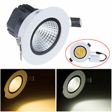 6W 9W 12W 15W Dimmable COB LED Recessed Ceiling Spot Down Light Bulb Lamp Lot BB