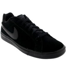 Mens Nike Court Majestic Lace Up Suede Casual Low Top Black Trainers UK 7-12
