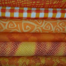 Orange Cotton Fabric Quilting/Sewing-CHOOSE FQ, HY or Yards-FREE US SHIPPING!