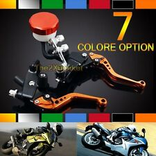 New Hot-sale Front Levers Fit For Suzuki Brake Clutch Fluid Reservoir Motorcycle
