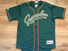 GREENSBORO GRASSHOPPERS NEW MAJESTIC OFFICIAL MINOR LEAGUE BASEBALL JERSEY