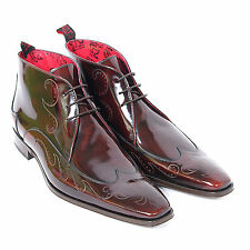 Jeffery West Men's J800 Chukka College Leather Scarface Mid Brown Boot