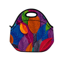 Hot Leaves Outdoor Travel Cooler Thermal Waterproof Lunch Bag Tote Box Container