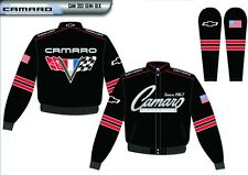 2014 Chevy CAMARO Black Red Adult Mens Jacket Coat Size S M XL 2XL 3XL Jh Design