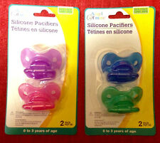 Angel of Mine Pacifier 2 Pack Infant to 3 years w/ silicone nipple BPA FREE Baby