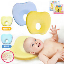 NEW Baby Head Rest Support Pillow Memory Foam Prevent Flat Head Plagiocephaly Q2