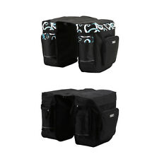 30L Cycling Bicycle Bag Bike Double Side Rear Rack Tail Seat Bag Pannier CN UK