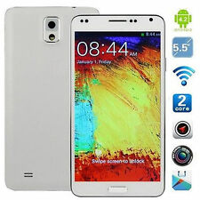 """5.5""""Android 2 Core Google Cell SmartPhone AT&T Mobile 3G/GSM 2Sim Straight talk"""