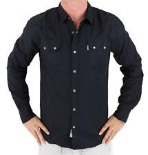 NEW NWT LEVI'S MEN'S CLASSIC LONG SLEEVE BUTTON UP SHIRT BLACK 3LDLW0921