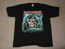 IRON MAIDEN Maiden England 2014 Aces High Black Tour T-shirt Mens New Official