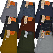 Levis 508 Jeans Regular Taper Fit Colored Jean Rare New 29 30 31 32 33 34 36 38