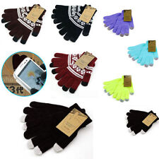 UNISEX KIDS LADIES MENS IPHONE IPAD PHONE SMART TOUCH SCREEN WINTER MAGIC GLOVES