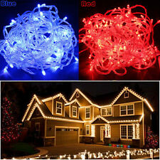 100/200/300/400/500 LED Bulbs Fairy Light Lamp Christmas Tree Party String Deco