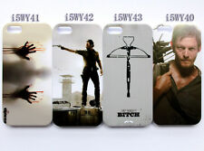 The Walking Dead Rick Daryl Dixon Zombies Pattern Case Cover For iPhone 5 5S