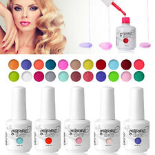 Nail Art Soak-Off Gel Polish UV LED Lamp 298 Bling Colours Base Top Coat 15ml
