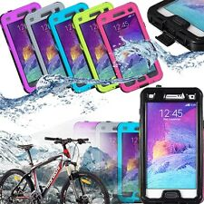 Waterproof Dirt/Shock Proof w/Button Case Cover For Samsung Galaxy Note 4 N9100