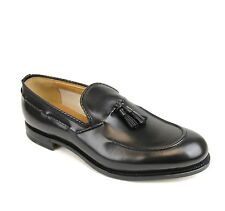 $780 New Authentic Gucci Mens Leather Dress Shoes Loafer w/Tassel, 309016 1000