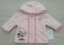 DISNEY STORE BABY GIRL MINNIE MOUSE HOODED JACKET NB 3-6 MONTHS