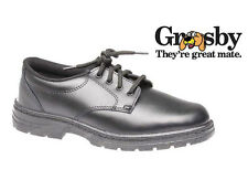 GROSBY ENGLISH KIDS/YOUTHS SCHOOL SHOES/LACE UP/GOOD QUALITY BLACK LEATHER/SALE