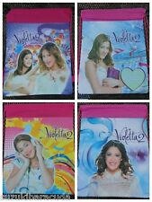 Disney Violetta Pink Drawstring Backpack Bag Martina Stoessel