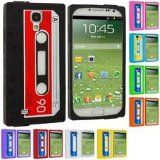 Color Silicone Cassette Tape Soft Gel Case Cover for Samsung Galaxy S4 SIV i9500