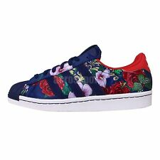 Adidas Originals Superstar 80s W F Rita Ora Roses Floral Womens Casual Shoes