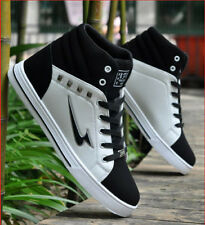 Men's Korean Casual All-match High-top Army Ankle Boots Lacing Flats Shoes T111