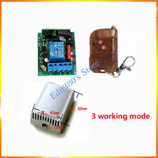 AC 220V Wireless Remote Control Switch On/off RF Relay RC Switch Home Automation