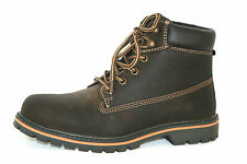 DOCKERS Boots Hiking Shoe Boots Mountain Stepper Boots Brown Leather Men's