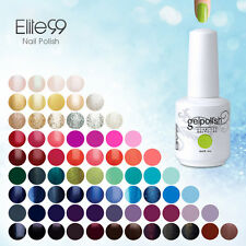 Nail Art Hot Soak-Off Gel Polish New 298 Bling Colours Base Top Coat UV LED Lamp