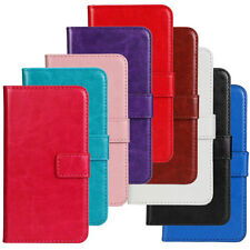 Magnetic Slim PU Leather Slot Stand Wallet Flip Cover Case For LG Optimus Phone