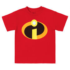 The Incredibles Basic Logo Youth T-shirt - Red