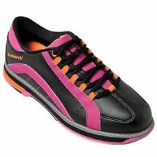 Brunswick Raven Black/Pink/Orange Womens Bowling Shoes
