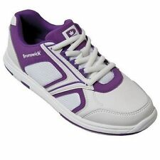 Brunswick Spark White/Purple Womens Bowling Shoes