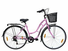 "TIGER 'TOWN AND COUNTRY 6 SPEED' LADIES HYBRID BIKE - 18"" FRAME - 700c"