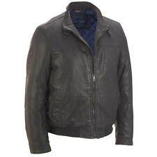 Wilsons Leather Mens Lamb Touch Bomber