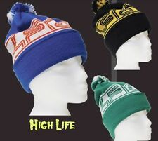 NEW 4Frnt Skis High Life Mens Warm Beanie Winter Snowboard Ski Hat Msrp$20