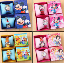 New Fashion Cartoon Children Kids Gift Analog Quartz Cute Wrist Watch