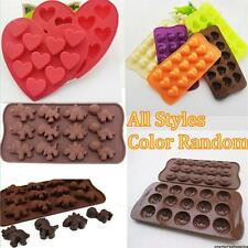 Various Fondant Sugar Paste Candy Chocolate Cake Decor Clay Craft Silicone Mold