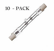 Halogen Double Ended J Type T3 78mm Short 118mm Long Pack of 10 Lamps