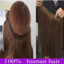 Full Head Thick No Clips Infinitude With Elastic Hand 100% Human Hair Extension