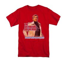The Six Million Dollar Man Spare Parts Licensed Adult Shirt S-3XL
