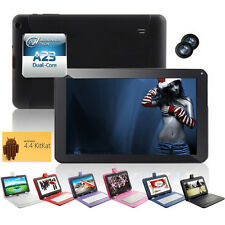 "9"" Google Android 4.4 Tablet PC A23 Dual Core 8GB Camera Wi-Fi w/ Color Keyboard"