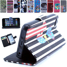 Flip Magnetic Leather Wallet Case Cover Stand For Samsung Galaxy Apple iPhone
