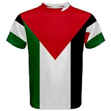 Palestine Palestinian Flag Sublimated Sublimation T-Shirt S,M,L,XL,2XL,3XL