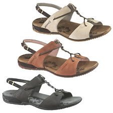 MERRELL MICCA LEATHER WOMENS/LADIES COMFORT SANDALS/SPORTS SANDALS ON SALE NOW