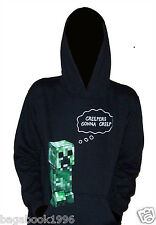 Minecraft Creepers Gonna Creep Boy's Pullover Hoodie Sweatshirt    MC22