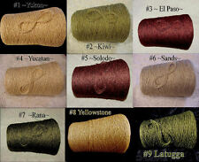 NEW ~Shimmer~ *7 Color Choice* Rayon Cotton Linen Spiral Cone Yarn Knit Weave