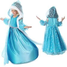 New Frozen Kids Elsa Princess Costume Girls Holiday Dresses Clothes 3 4 5 6 7 8