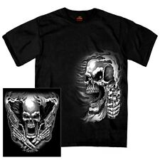 ASSASSIN T-Shirt Skull Gun Motorcycle Chopper Biker Marine Army USMC SWAT Sniper